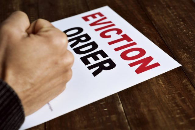 70% of eviction notices could be illegal?