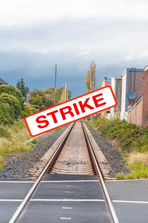 Rail Strikes Causing Rents to Fall Across the South East