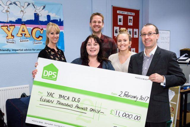 The DPS Donates £19,000 to Charities in Brighton and Devon