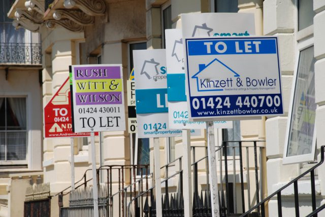 Large decline in homes to rent over the last six years