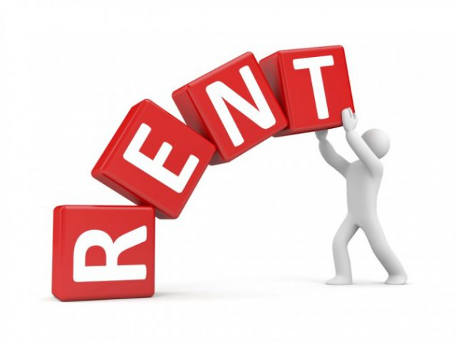 Rents rose by 2.4% during August