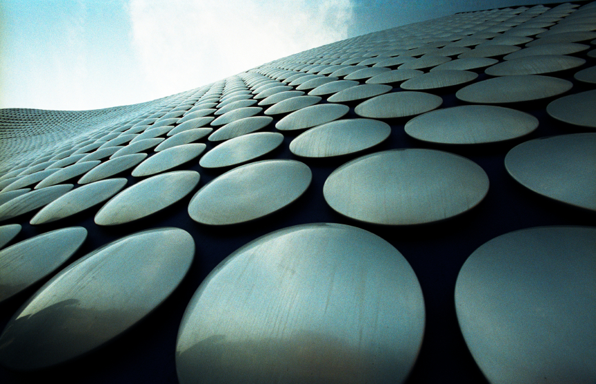 Birmingham bullring shopping centre - modern architecture Selfridges building