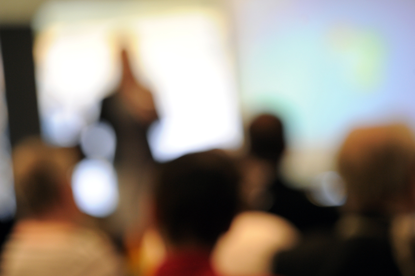 Defocused Conference Setting