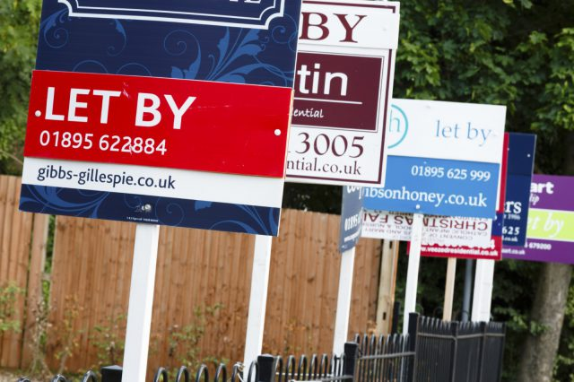 Rent Demand Falls